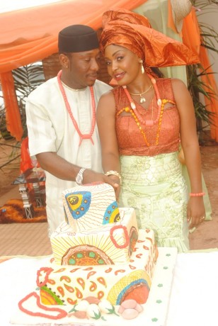 Nuella-Njudigbo-and-Tchidi-Chikeres-traditional-marriage-1-308x460