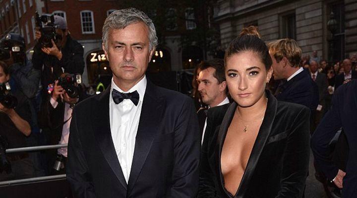 Mourinho & Daughter