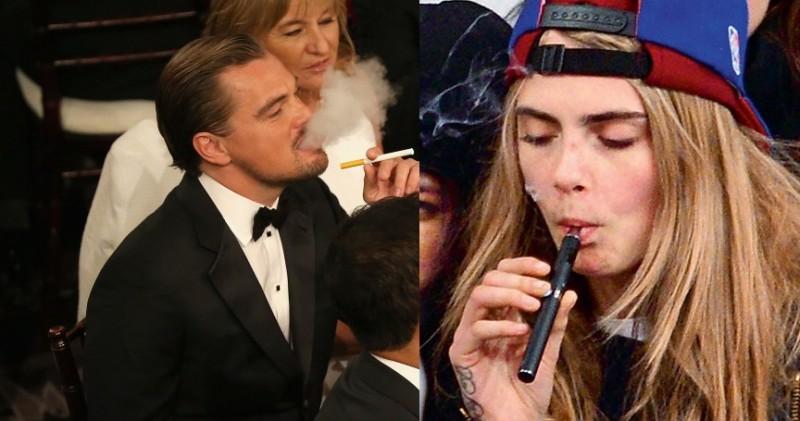 Leonardo-DiCaprio-lit-up-electronic-cigarette-his-table-where1