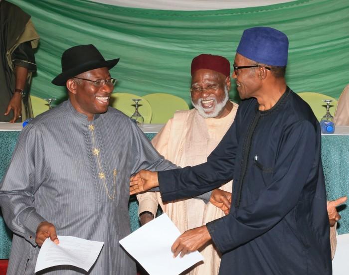This is what happened between Jonathan and Buhari phone call