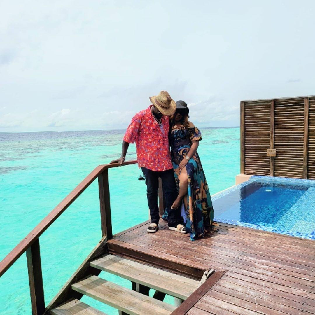 Photos From Obi Cubana And His Wife Vacation At The Maldives