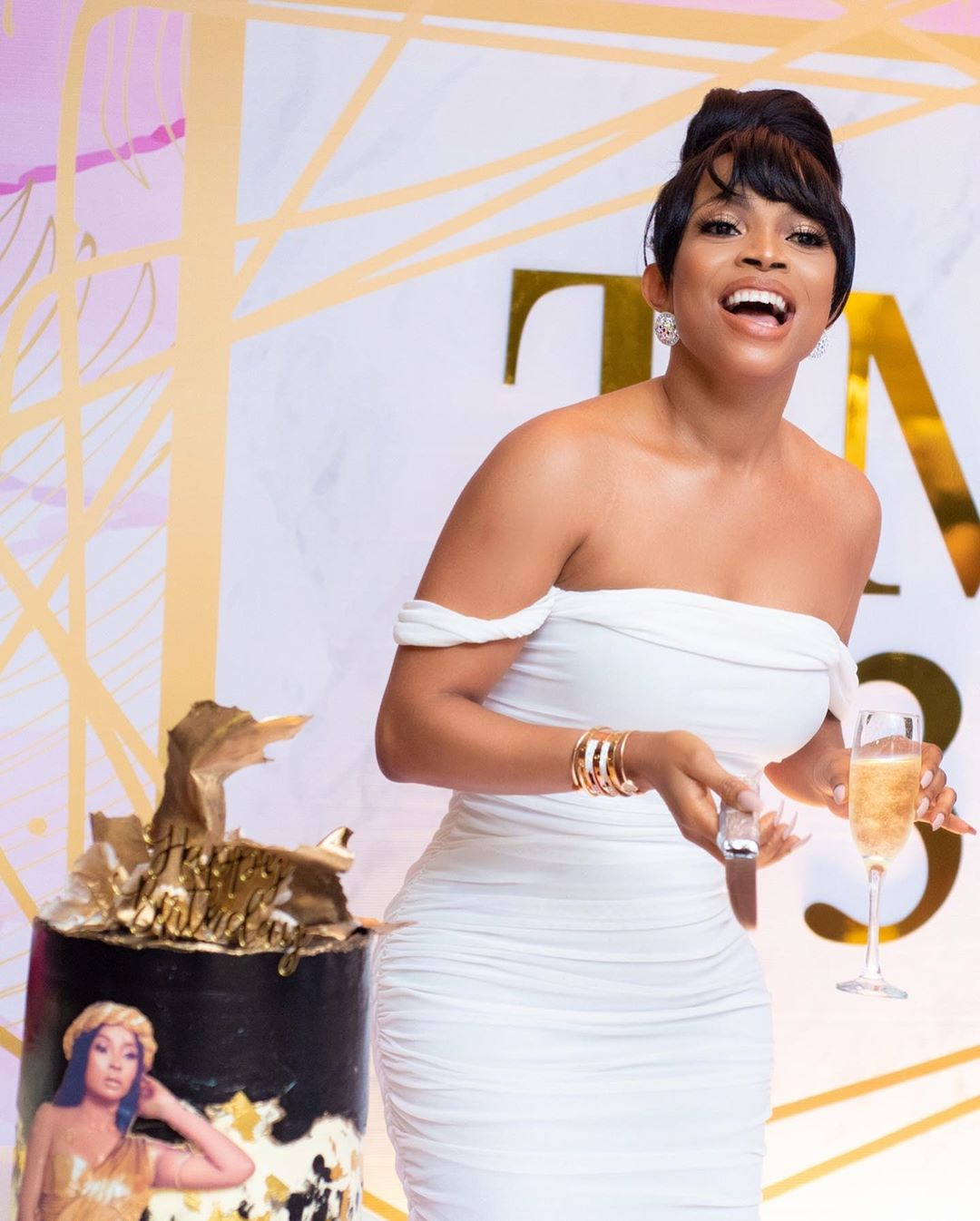 They say divorce is a sin but will cry for you when your life is over - Token Makinwa sobs over Maryam Sanda