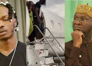Naira Marley and Executive Jets